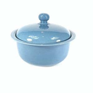 Nancy Calhoun Vista Del Sol Blue Covered Casserole